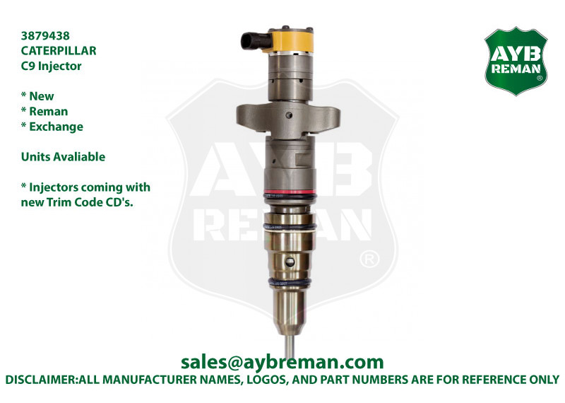 3879438 Injector for Caterpillar C9 Engine