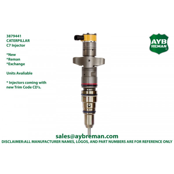 3879441 Injector for Caterpillar C7 Engine