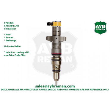 5734235 Injector for Caterpillar C9 Engine