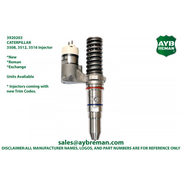 3920203 Injector for Caterpillar  3506 3508 3512 3516 3524 Engine