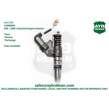 3411757 Diesel Fuel Injector for Cummins ISM/QSM Engine
