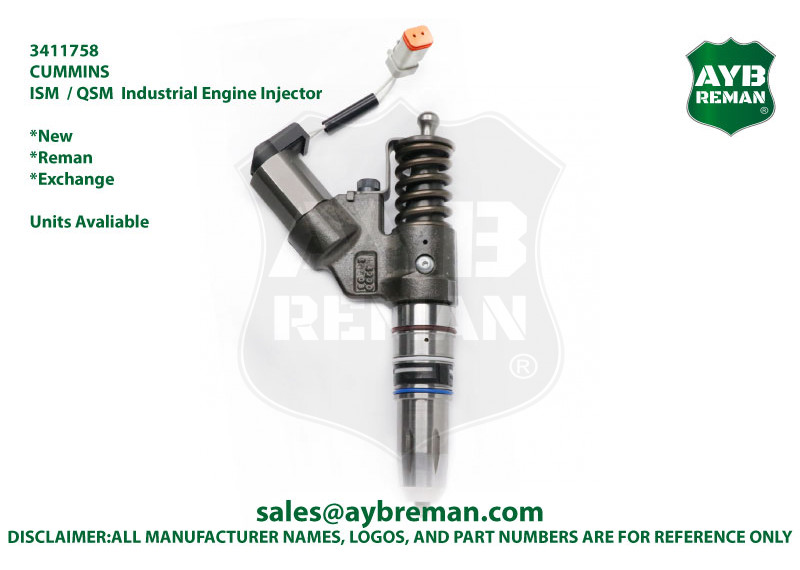 3411758 Diesel Fuel Injector for Cummins ISM/QSM Engine