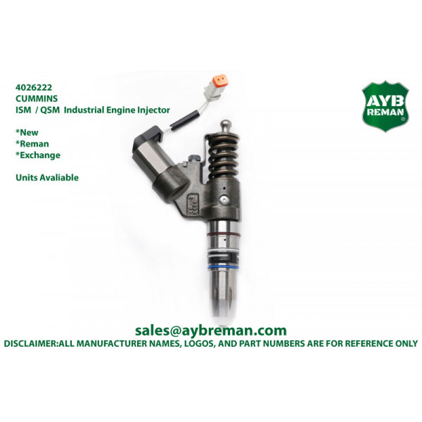 4026222 Diesel Fuel Injector for Cummins ISM/QSM Engine