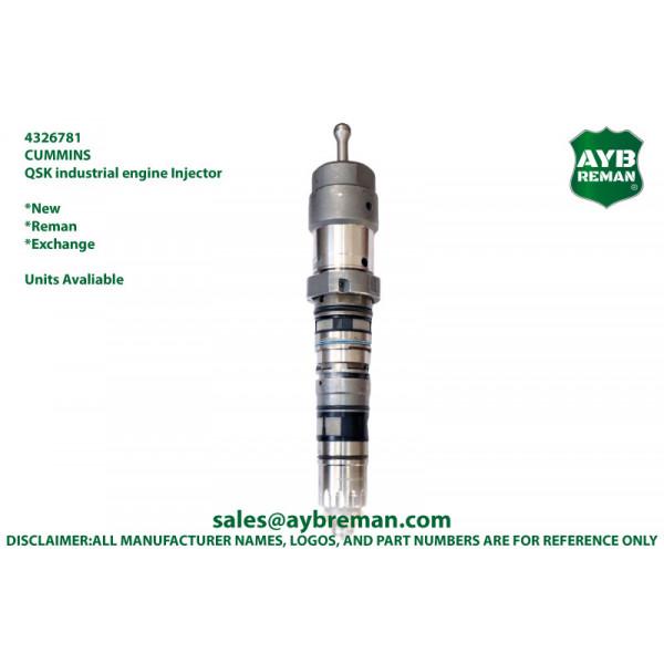 4326781 4326781NX 4326781PX 4326781RX Cummins Fuel Injector