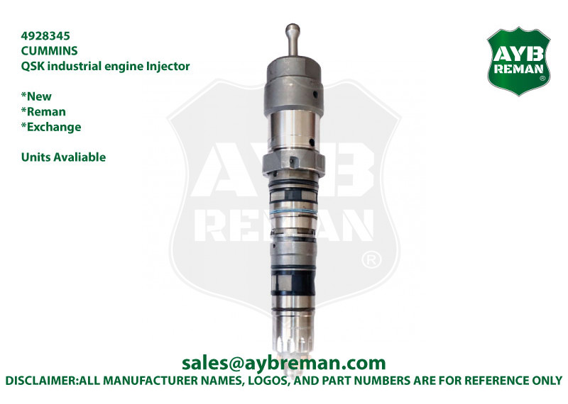 4928345 4928345NX 4928345PX 4928345RX Cummins Fuel Injector