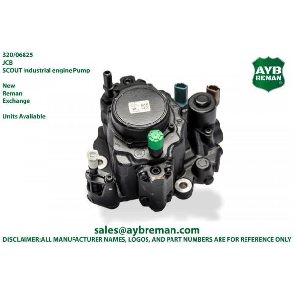 320/06825 Diesel Fuel HP CR Pump for JCB Engine