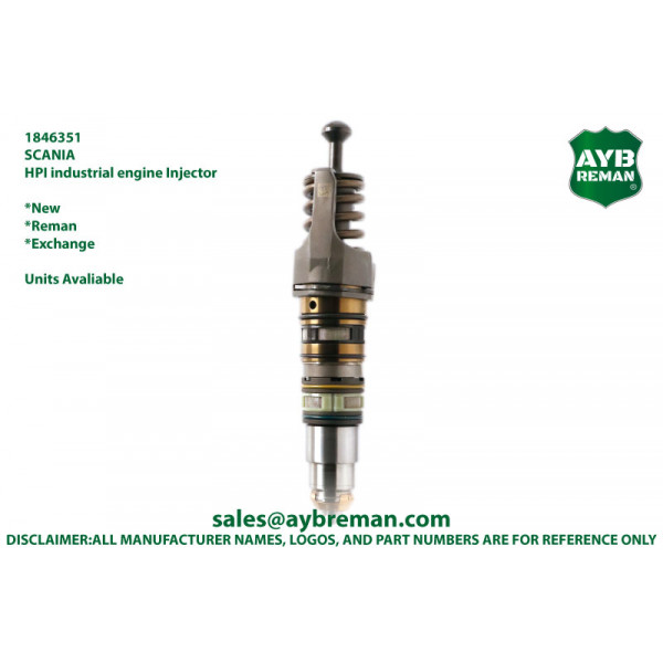 1846351 Diesel Fuel Injector for Scania HPI Engines