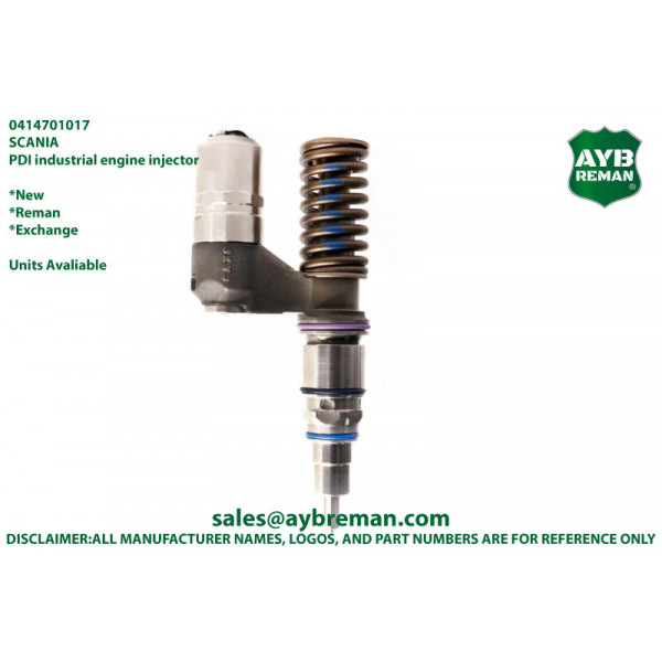 0414701025 Diesel Fuel Injector for Scania Engine