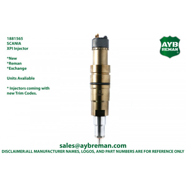 1881565 Diesel Fuel Injector for Scania DC09/DC13/DC16 Engines