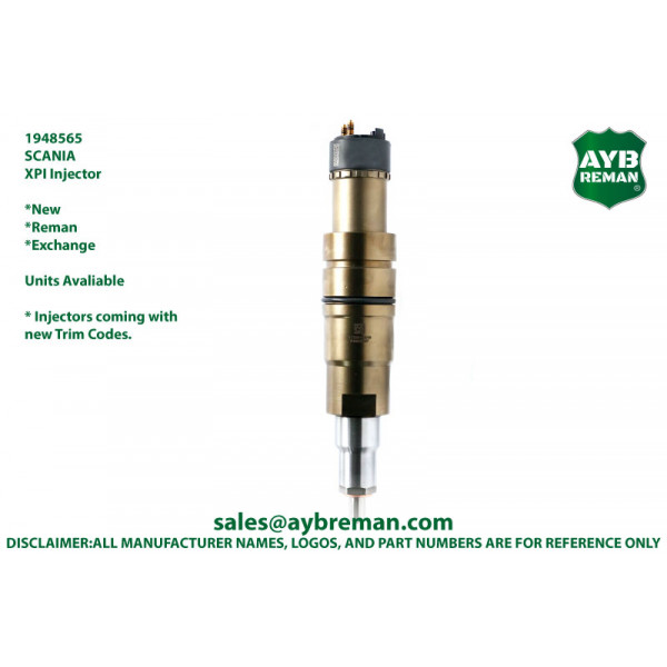 1948565 Diesel Fuel Injector for Scania DC09/DC13/DC16 Engines