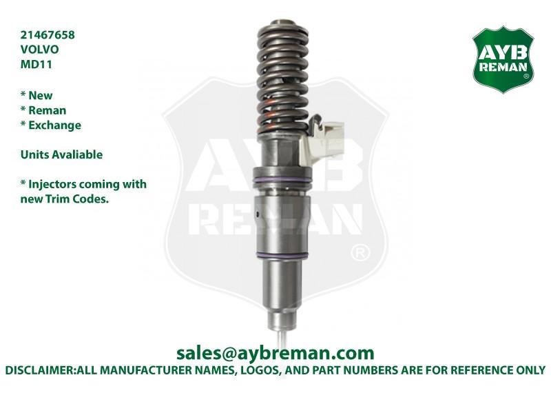 21467658 BEBE4G14001 Diesel Fuel Injector